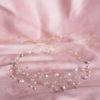 ozdoba na ślub z kryształami