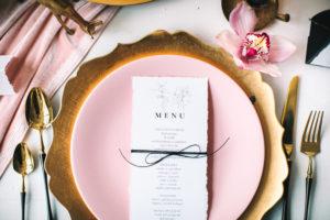 dekoracja stołu na wesele