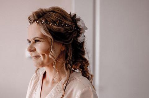 wianek do włosów balladyna- panna młoda