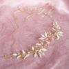 Ozdoba do włosów z perłami