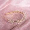 opaska do włosów z kryształami